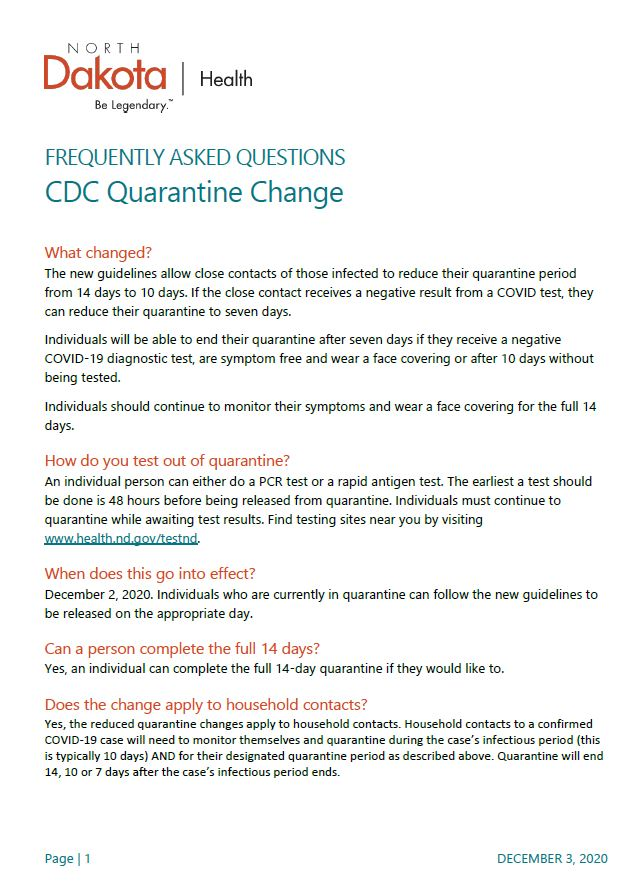 CDC Guidelines Page 1